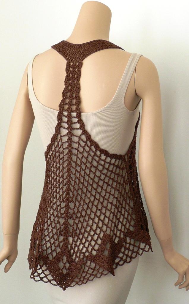 Brown Eyed Girl Back Doris Chan Crochet