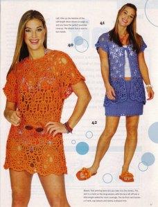 Designed by Doris Chan, Family Circle Easy Knitting, 2004