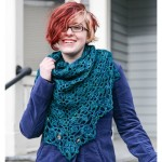 Cousteau Shawl Wrapped