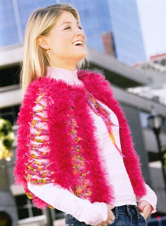Fur & Ribbon Capelet