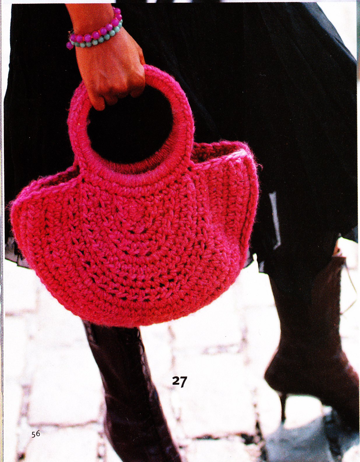 Crochet Circle Bag : Published March 18, 2011 at 1235 ? 1585 in Been There, Designed That