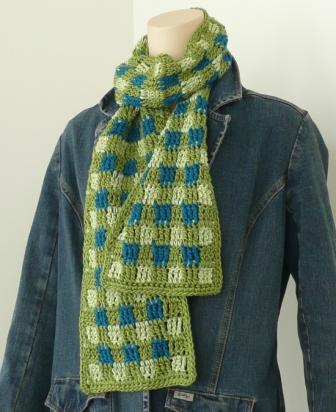 Woven Scotch Plaid Afghan Pattern | Crochet Patterns