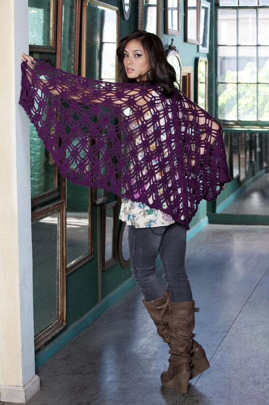 Crochet Pattern For Bohemian Shawl : Free Pattern Links Doris Chan Crochet