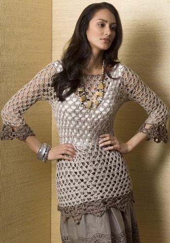 Free Crochet Pattern For Tunic Top : Free Pattern Links Doris Chan Crochet