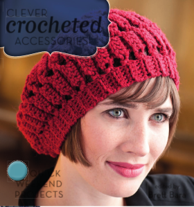 Saturday Beret designed by Ellen Gormley