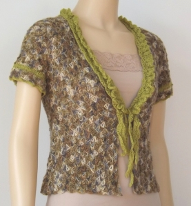 Frilly Summer Cardigan by Susan Walsh