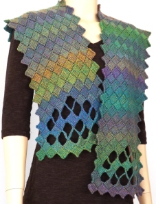 Windowpane Wrap by April Garwood