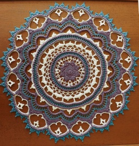 Calcutta Doily by Kathryn White