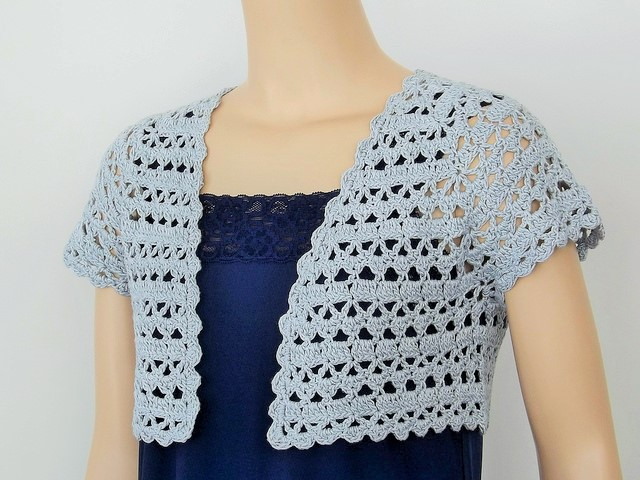 Introducing Djc Lotus Bolero Crochet Conference Ready Doris Chan