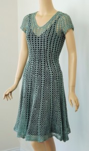 Seashell Dress, designed by Linda Jefferies