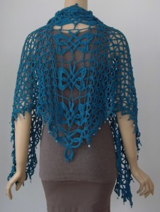 Feileacan Shawl, designed by Jennifer Ryan
