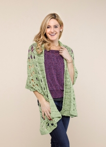 Shawl Collar Stole front