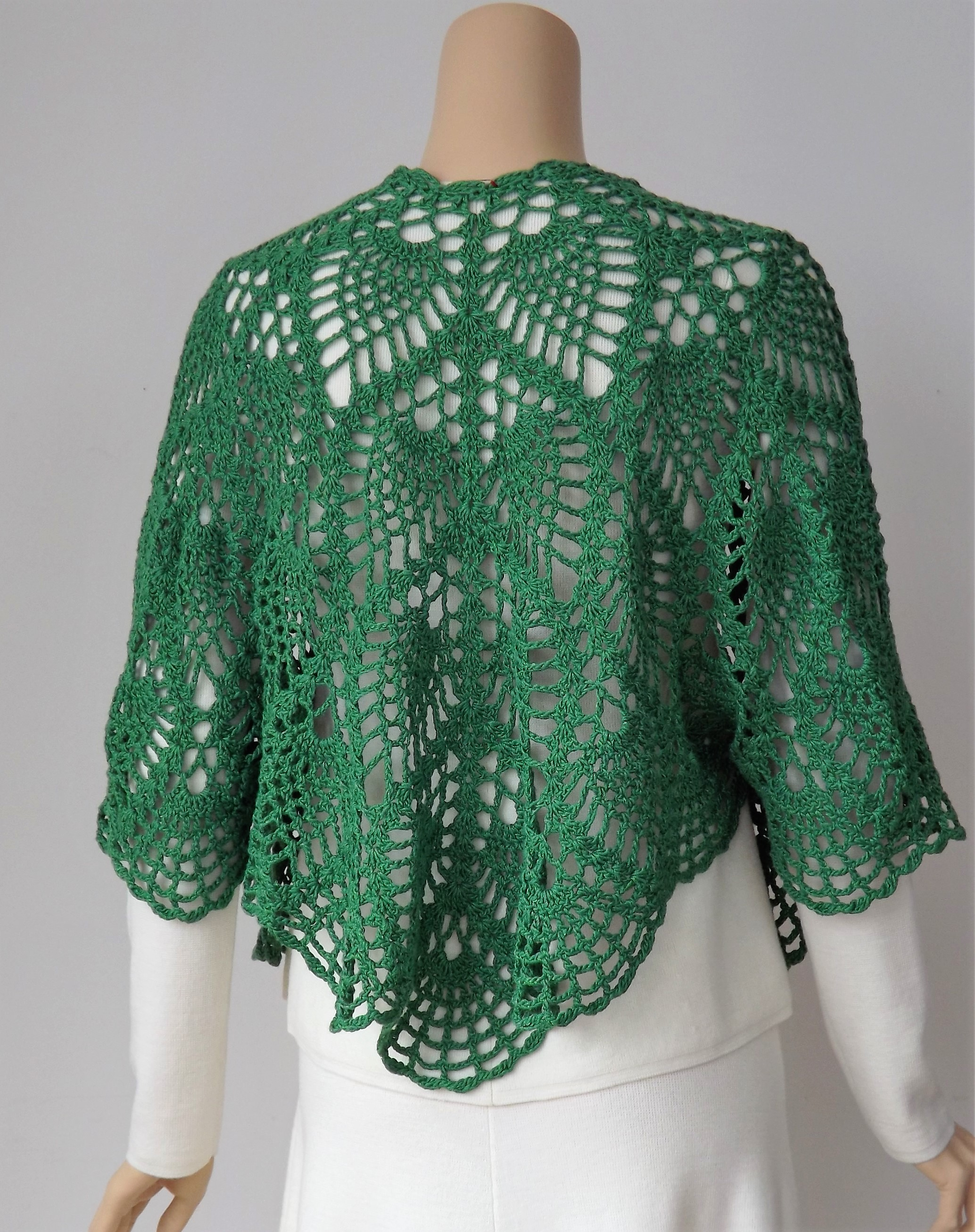 Doris Chan Crochet Musings From Designer All Shawl Stitch Diagrams Lotus Curacao Jacket